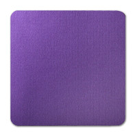 "50 Pack Eames Furniture Kaleidoscope Purple 80 Lb. Cover Square Borderless Rounded Corner Cards 7 1/4"" X 7 1/4"""