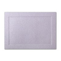 "50 Pack Stardream Metallic Kunzite 105 Lb. Cover A2 Bevel Panel Border Card 4 1/4"" X 5 1/2"""