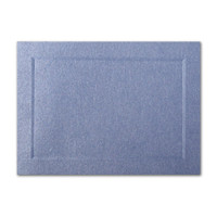 "50 Pack Stardream Metallic Vista 105 Lb. Cover A2 Bevel Panel Border Card 4 1/4"" X 5 1/2"""