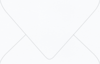Savoy Bright White A-9 Envelopes 50 Per Package