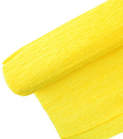 "Crepe Paper Golden Yellow Crepe Paper Roll (20"" X 98"")"