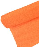 "Crepe Paper Orange Crepe Paper Roll (20"" X 98"")"