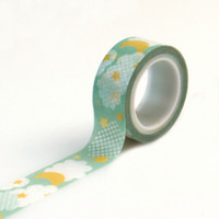 Echo Park Decorative Tape Clouds & Stars Washi Tape