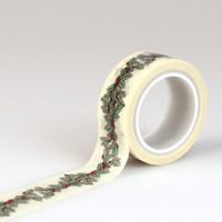 Echo Park Decorative Tape Holly Berry Washi Tape