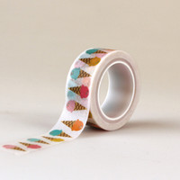 Echo Park Decorative Tape Ice Cream Washi Tape