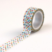 Echo Park Decorative Tape Multi Dot Washi Tape