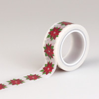 Echo Park Poinsettia Decorative Tape Washi Tape