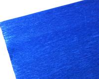 "Crepe Paper Blue Metallic Crepe Paper Roll (20"" X 98"")"
