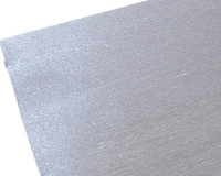 "Crepe Paper Silver Metallic Crepe Paper Roll (20"" X 98"")"