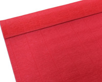 "Crepe Paper Scarlet Red Crepe Paper Roll (20"" X 98"")"