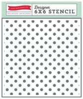 Echo Park Paper Polka Dots Stencil