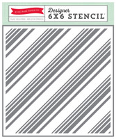 Echo Park Paper Diagonal Stripes Stencil