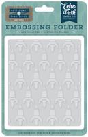 Echo Park Paper Rocketship Embossing Folder