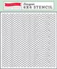 Echo Park Paper Zigzag Stencil