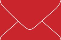 Aura Tango 4-Bar Euro Pointed Flap Envelopes 50 Per Package