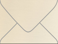 Esse Pearlized Latte A-2 Metallic Euro Pointed Flap Envelopes 50 Per Package