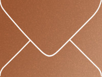 Stardream Copper A-2 Metallic Euro Pointed Flap Envelopes 50 Per Package