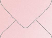 Stardream Rose Quartz A-7 Metallic Euro Pointed Flap Envelopes 50 Per Package