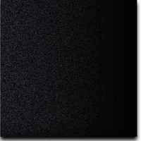 "Solid Glitter Cardstock Black 12"" x 12"" cover weight"