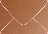 Stardream Copper Gift Card Metallic Euro Pointed Flap Envelopes 50 Per Package