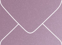 Stardream Amethyst Outer 7 Metallic Euro Pointed Flap Envelopes 50 Per Package