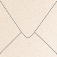 """Stardream Coral 5 1/2"""" Square Metallic Euro Pointed Flap Envelopes 50 Per Package"""