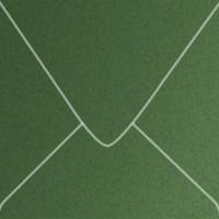 """Curious Metallics Botanic 5 1/2"""" Square Metallic Euro Pointed Flap Envelopes 50 Per Package"""