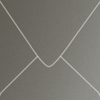 """Curious Metallics Ionised 5 1/2"""" Square Metallic Euro Pointed Flap Envelopes 50 Per Package"""