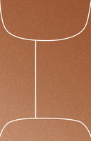 "Stardream Copper 2 1/4"" x 3 1/2"" Metallic Mini Top-Open Envelopes 50 Per Package"