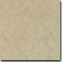 "Felicity Pattern Metallic 8 1/2"" x 11"" cover weight Gold on Curious Metallics Gold Leaf"