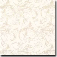 "Felicity Pattern Metallic 8 1/2"" x 11"" text weight Tan on Stardream Quartz"