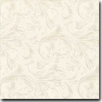 "Felicity Pattern Metallic 8 1/2"" x 11"" text weight Taupe on Stardream Opal"