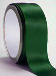 """Forest Green Double Faced Satin Ribbon 1/4"""" x 100 yard spool"""