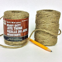 Heavy Duty Jute Twine 164 foot spool