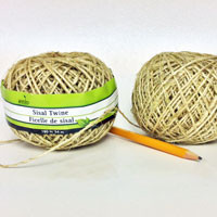 Sisal Twine 180 foot spool