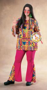 Big Mama Plus Size Hippie Costume