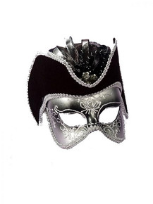 /venetian-half-mask-with-attached-hat/
