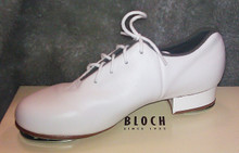 Men's White Tap Flex w/ Stevens Stompers Clogging Taps