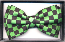 Checkered Bowtie w/ Assorted Colors