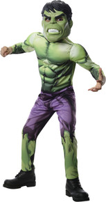 Avengers Assemble Licensed Hulk Deluxe Child's Costume