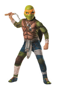 Teenage Mutant Ninja Turtles Licensed Michaelangelo Costume Adults
