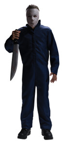 Halloween Licensed Michael Myers Kid's Jumpsuit & Mask Costume Set