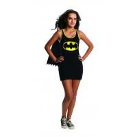 Batgirl Tank Dress Teen with Cape