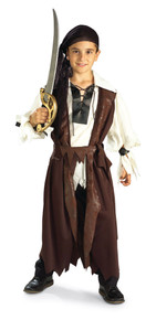 Caribbean Pirate Kids Costume