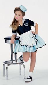 Car Hop Girl 50's Costume