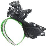 /80s-lime-green-lace-headband-with-black-lace-bow-62940/