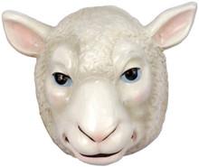 Sheep Mask Plastic Frontal