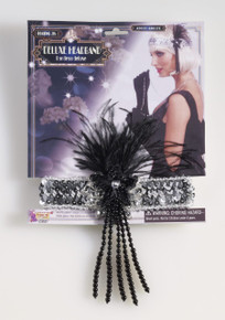 /silver-flapper-headband-with-black-feathers-beads/