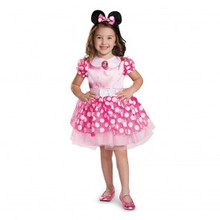 Disney Classic Pink Minnie Mouse Licensed Tutu Dress