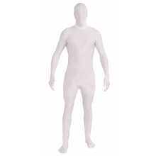 Disappearing Man Adult Costume White